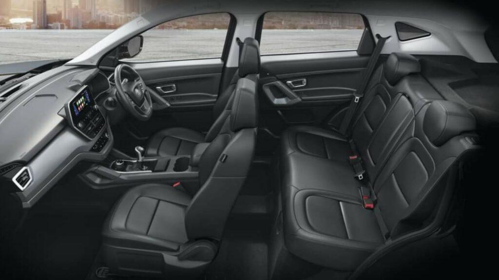 Harrier Camo Blackstone Leather Seats