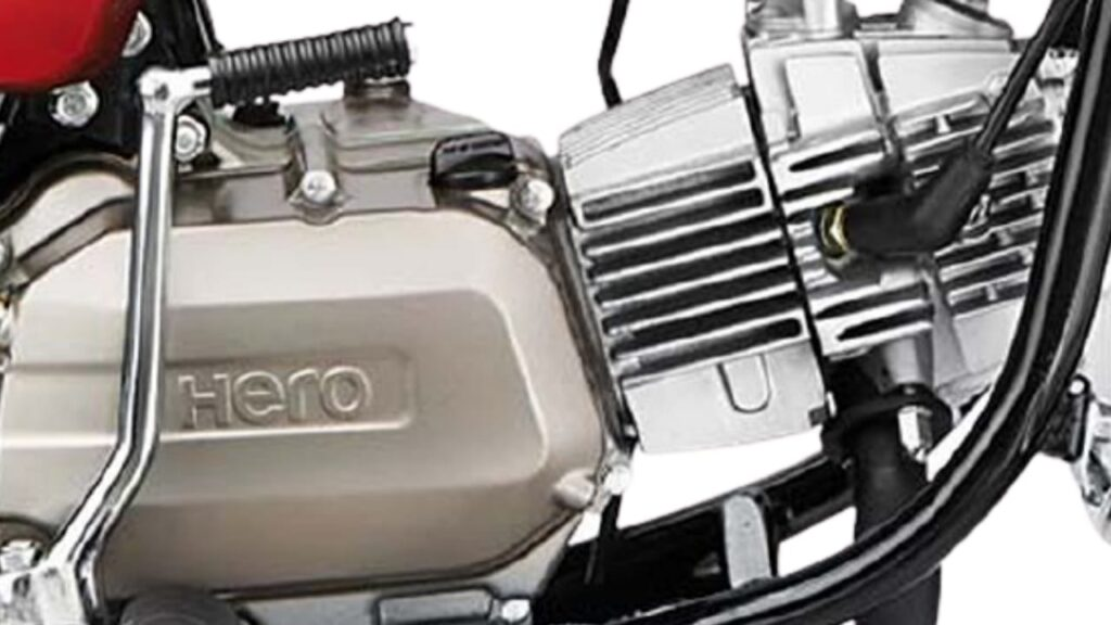 Hero Splendor Plus i3s BS6 Engine