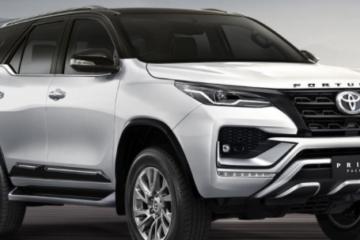 2021 Toyota Fortuner Facelift