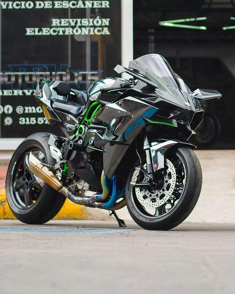 Kawasaki Ninja H2r Speed