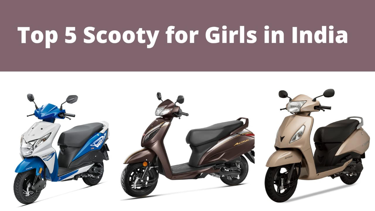 Scooty for Girls