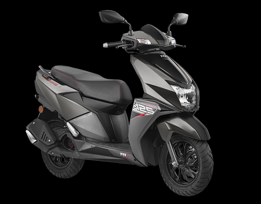 best sporty scooter for girls - TVS N torque