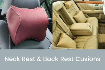 Neck Rest and Back Rest Cusions